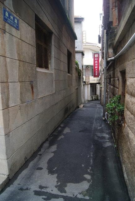 鼓浪屿上的街道