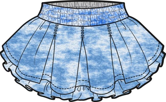 时尚童装裙子