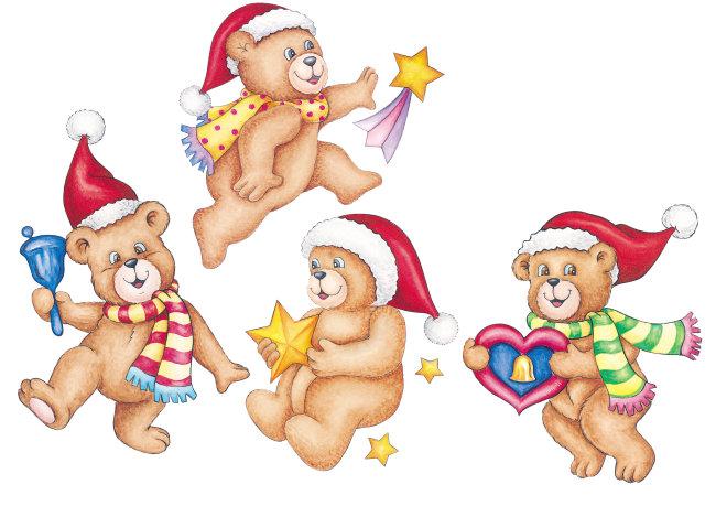 > 圣诞熊组合