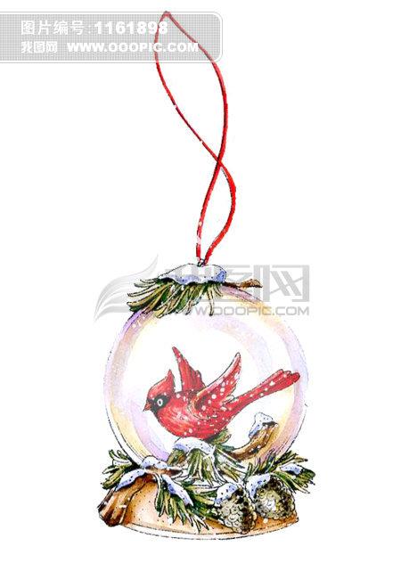 红鸟和水球 红鸟和水球 圣诞节 圣诞节手绘图