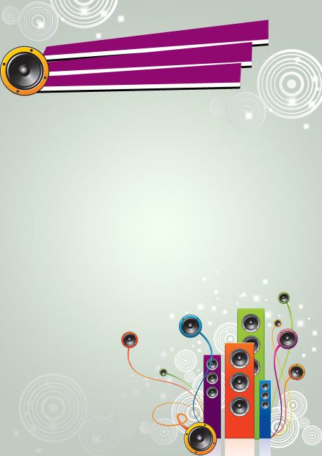 音乐宣传单背景模板下载 音乐宣传单背景图片下载 音乐宣传单背景