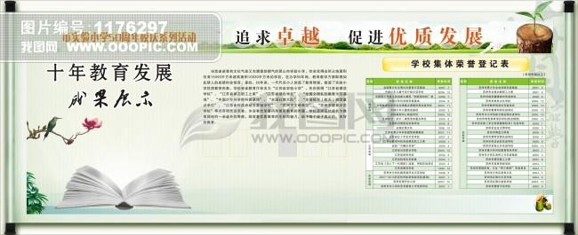 学校展板模板下载_学校展板设计图片素材下载