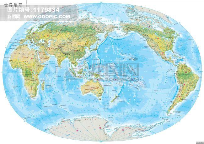 世界地图模板下载(图片编号:1179834)__风景