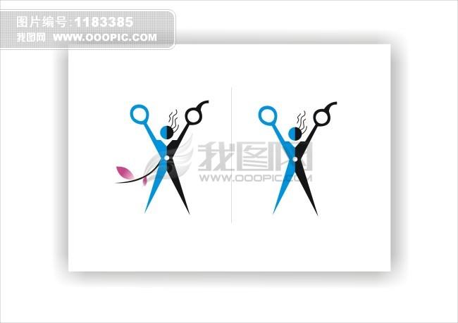 标志设计模板下载(图片编号:1183385)_美容美发logo图片