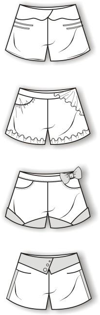 针织衣服款式设计图展示