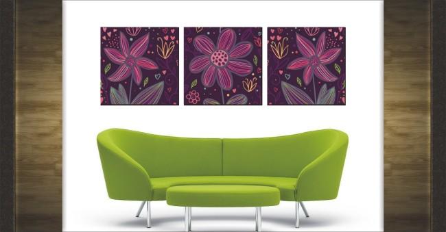 图案 下载/抽象图案装饰无框画设计模板下载