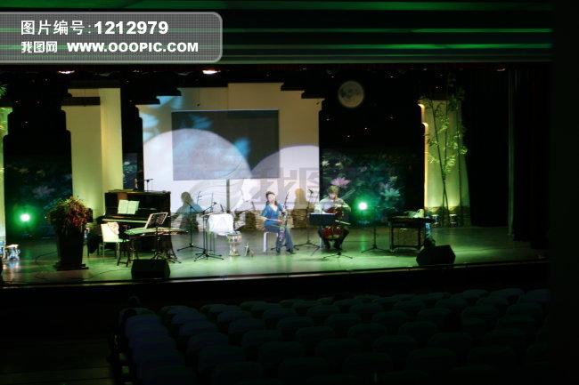 音乐会舞台背景素材