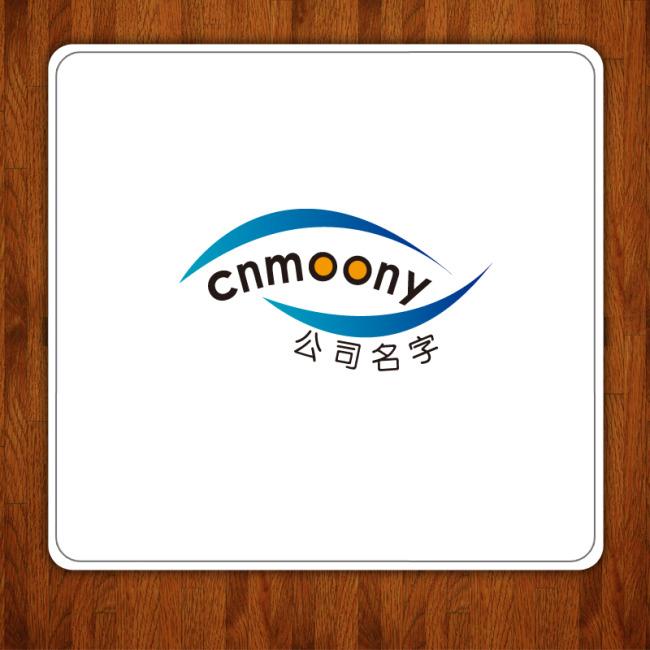 月亮形状logo