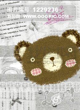 卡通小熊[psd]