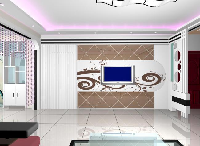 客厅影视墙模板下载 客厅影视墙图片下载