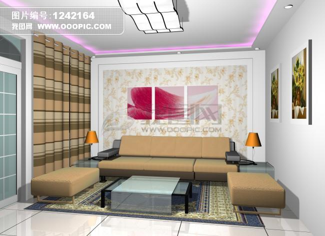 沙发背景墙 设计图 家装