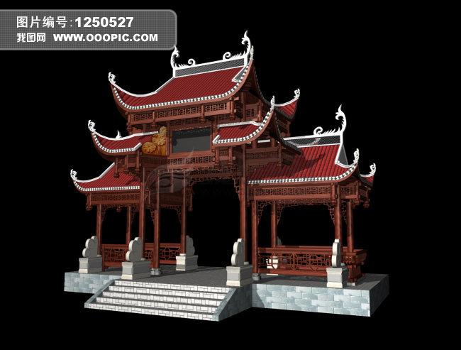 室外模型-3d模型下载|模型库|3d效果;