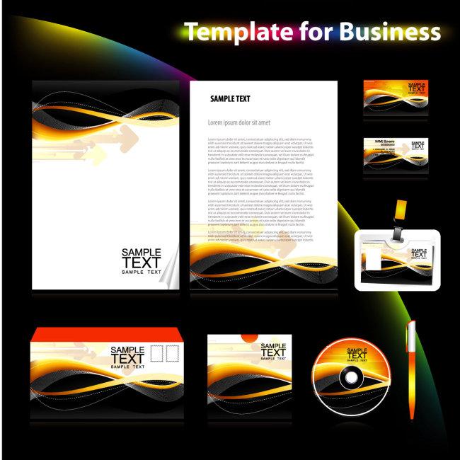 素材 模板/[版权图片]通用VI模板素材下载