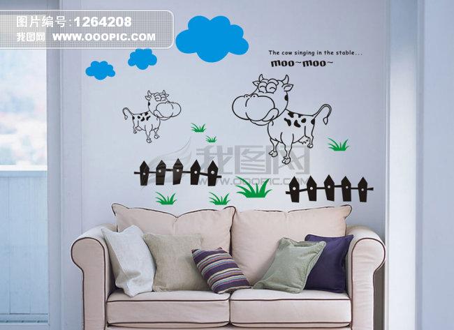 设计元素 设计素材 墙绘 墙画 矢量 矢量图 矢量图库 矢量素材 矢量