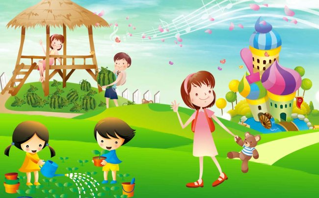 舞台背景 六一儿童节舞台背景