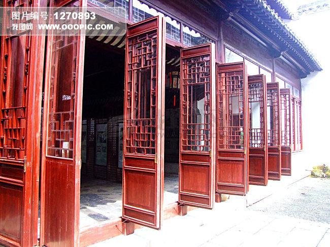 苏州园林 建筑门扇