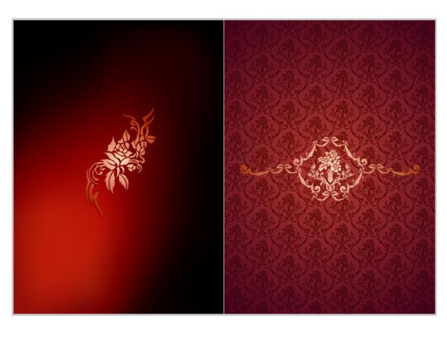 背景花纹红色背景折页dm红色背景红色背景素材深红色