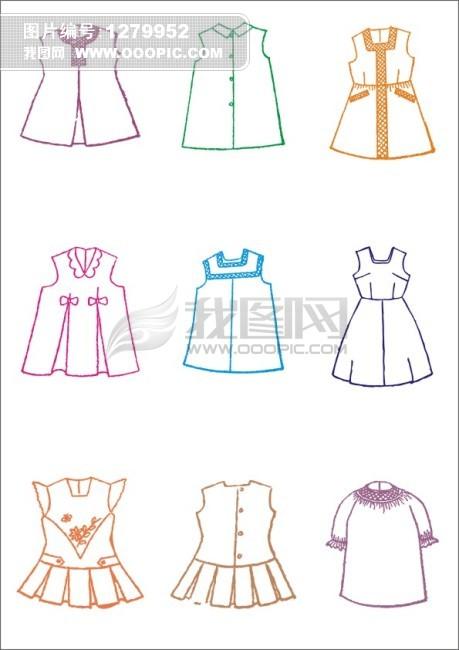 女童裙子-服装设计图片下载