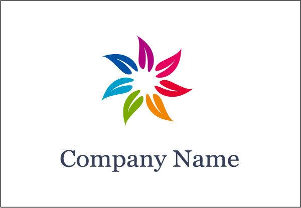 七色花logo