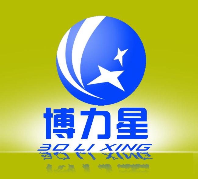 logo模板下载 蓝色背景特色logo图片下载