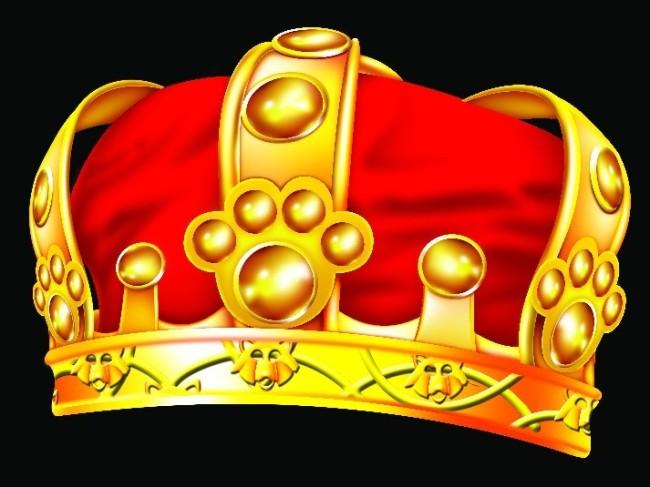 王冠手绘图平面