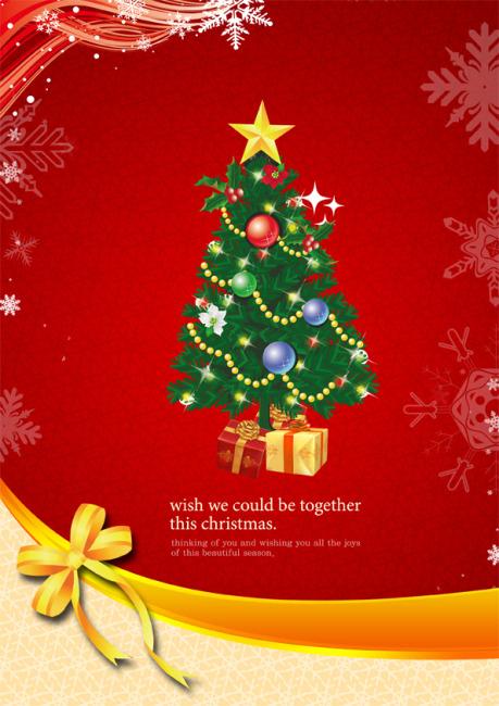圣诞节贺卡模板下载模板下载(图片编号:1301100)