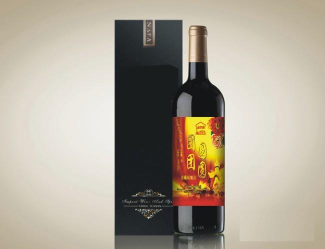 葡萄酒标签模板下载 葡萄酒标签图片下载