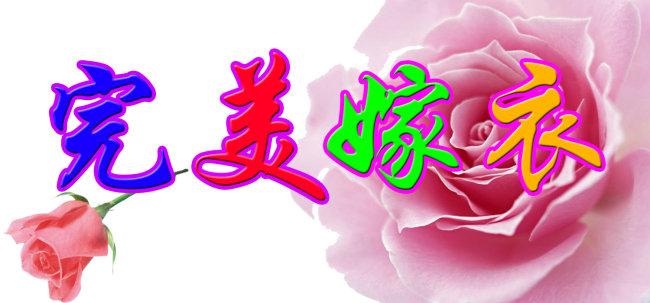 艺术字/[版权图片]艺术字之完美嫁衣