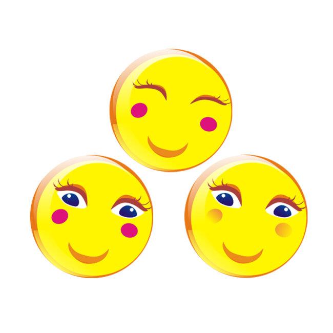 卡通笑脸模板下载(图片编号:1326906)_动物图案_花纹
