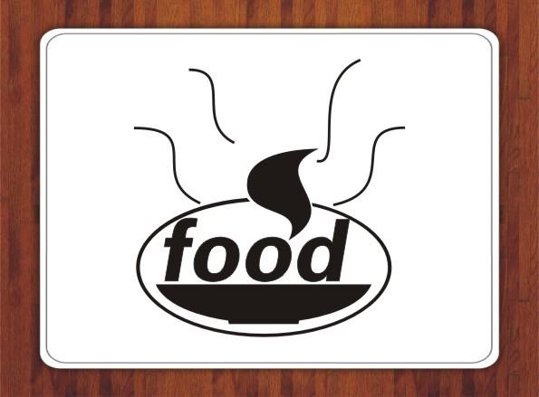 美食logo素材_