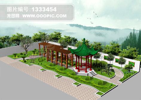 室外模型; 园林设计psd; 园林设计模板下载 园林设计图片下载 原版