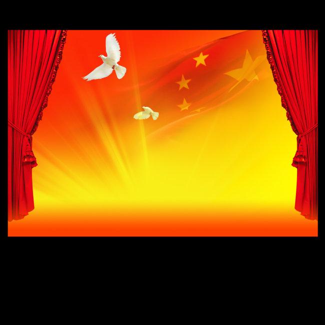 政府展板 部队宣传画 海报背景 国庆背景 学校党建 政府会议 会议背景图片