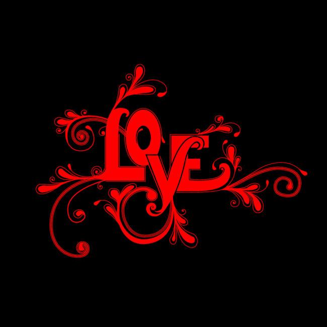 love艺术字模板下载(图片编号:1350016)_艺术字体设计