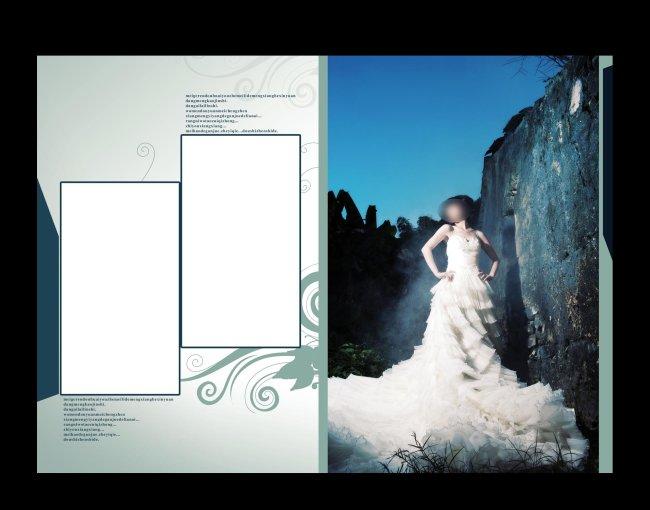 婚纱相册模板图片下载
