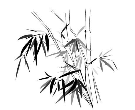 矢量竹子 矢量素材