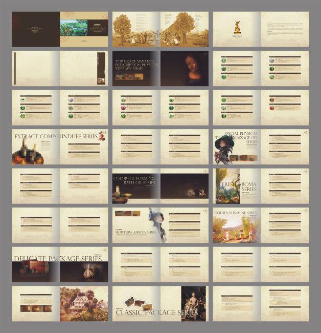 平面设计 画册设计 产品画册(整套) > 美容产品手册  下一张&gt