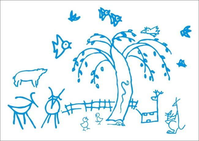 白描 美术 美工画 美工 手描画 手描 美术画 手工画 钢笔画 工笔画 简