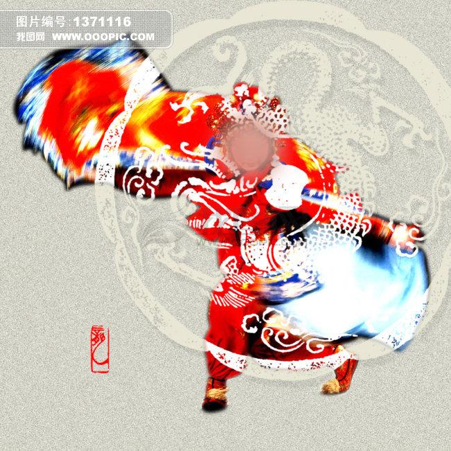 中国风戏曲卡通图片