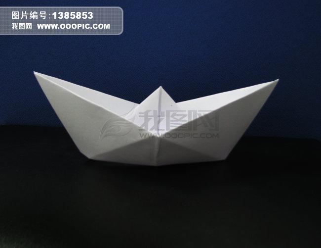 纸船摄影图片素材(图片编号:1385853)_其它物; 纸船 折纸 素材 静物