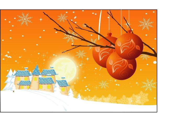 冬季药房手绘pop图片