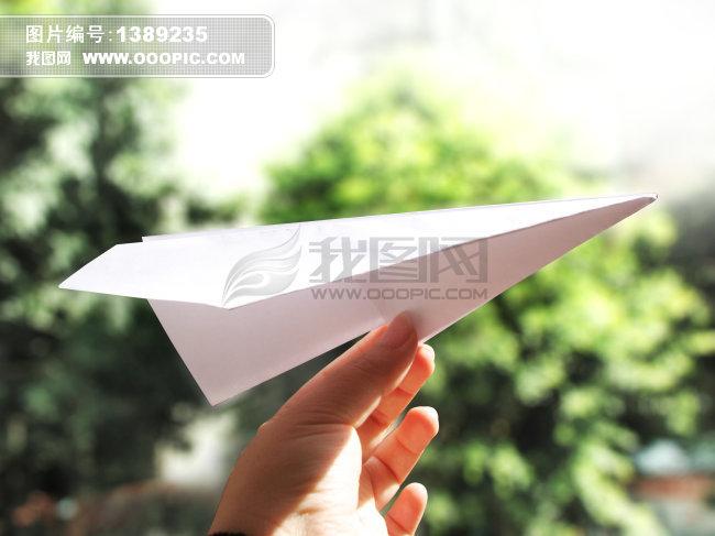 纸飞机摄影图片下载 纸飞机