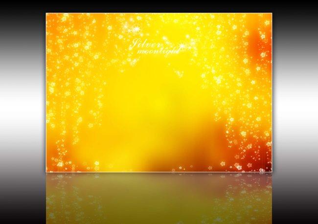 金色调婚纱模板