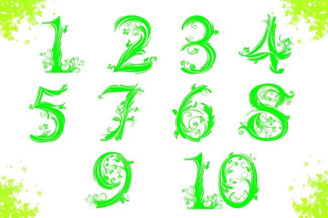 数字艺术字