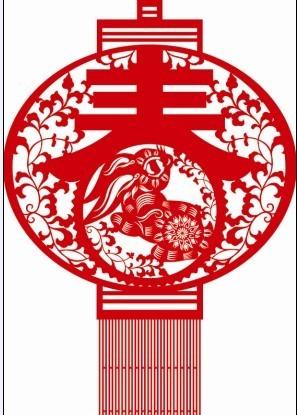 平面设计 节日设计 元旦|春节|元宵 > 剪纸篇延展-窗花.