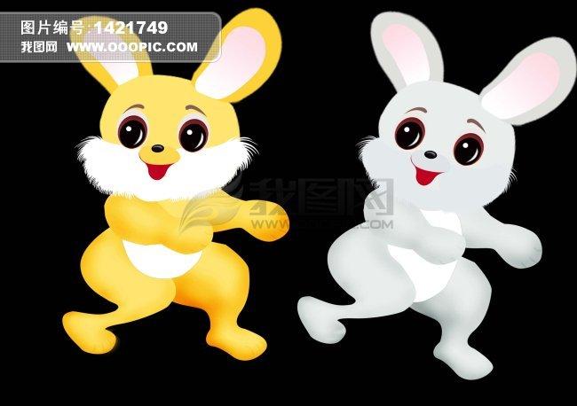 可爱小兔子 可爱小兔子卡通图片