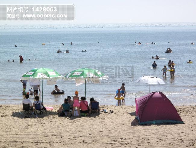 翡翠岛风光模板下载 翡翠岛风光图片下载 河北 昌黎 翡翠岛 自然风景