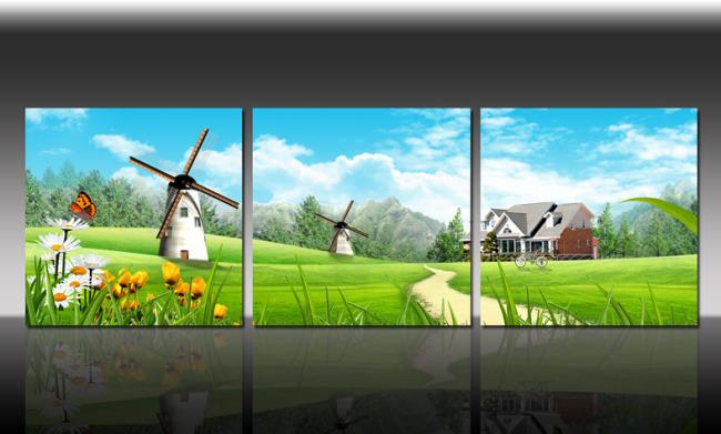 创意      草地 草地鲜花 鲜花 鲜花背景 背景 背景图 背景素材图片