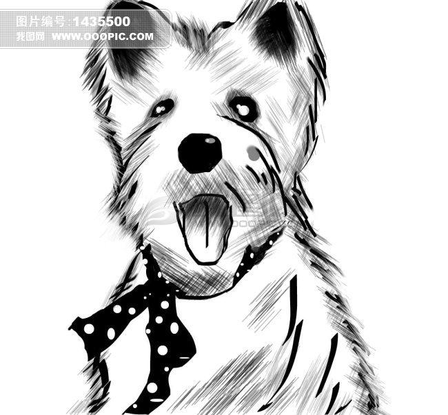铅笔画宠物游戏怎么画