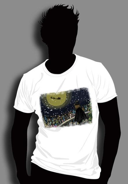 手绘插画t恤图案设计2模板下载