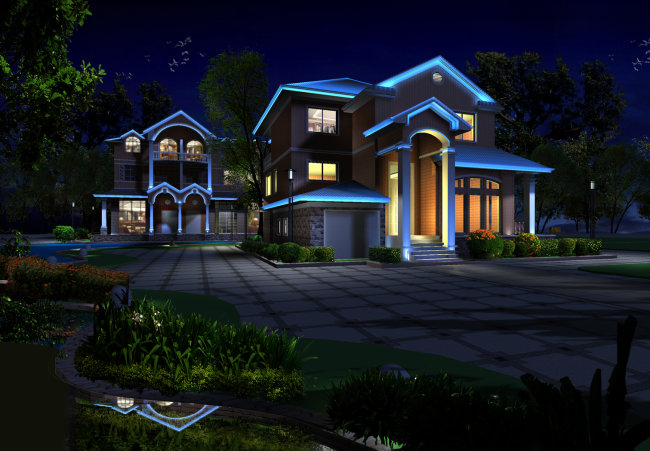 别墅设计模板下载 别墅设计图片下载